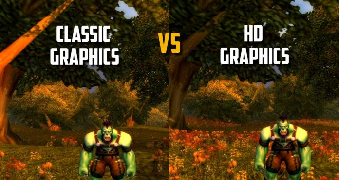 Classic WoW : First screenshots of the beta