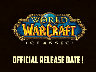wow classic release date