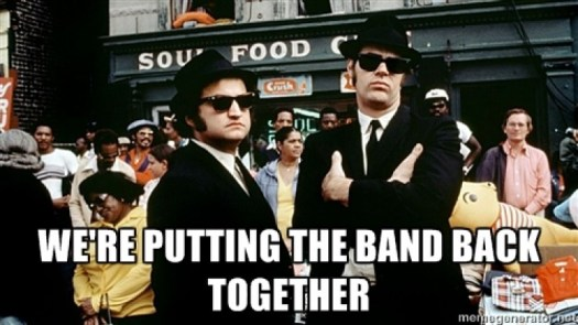 Image result for get the band back together
