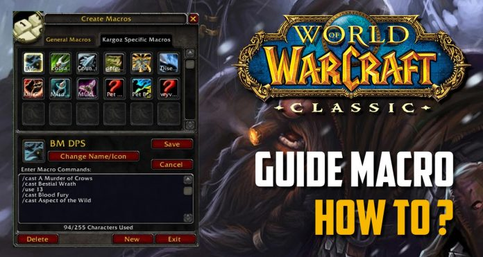 How to make macros in WoW Classic 101