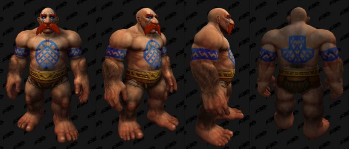 New Dwarf Character Customization Options in Shadowlands Including Tattoos
