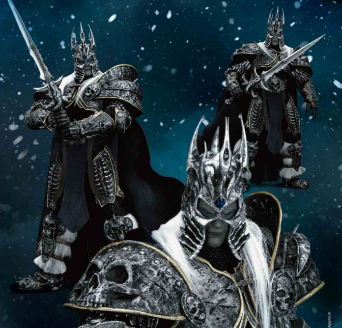 New Arthas Lich King Figurine On Sale from Beast Studios and Blizzard