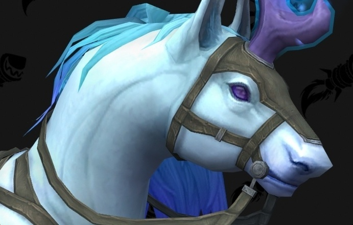 Shadowlands Mount Preview - Ardenweald Flying Unicorn