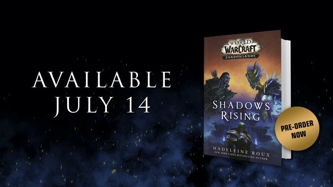 New Nathanos Excerpt from Shadows Rising Novel