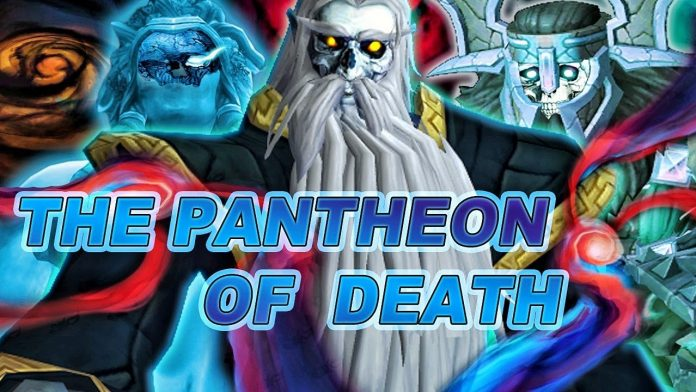 The Pantheon of Death - Shadowlands Lore Video by Nobbel87