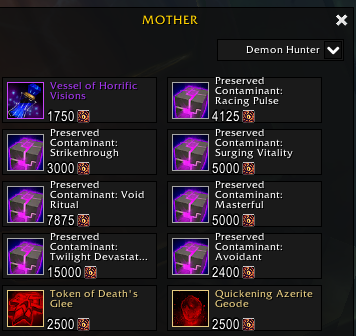 Corruption Vendor: Preserved Contaminants on Sale for July 3rd - July 7th