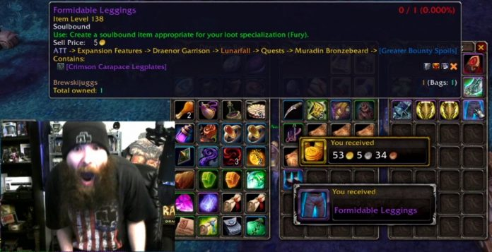 DesMephisto Has Collected All Plate Transmog in the Game