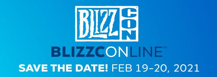 BlizzConline is February 19-20, 2021 - Virtual BlizzCon Event