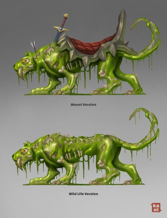 Community Artists Create Fan Art for the Free Shadowlands Mount Contest