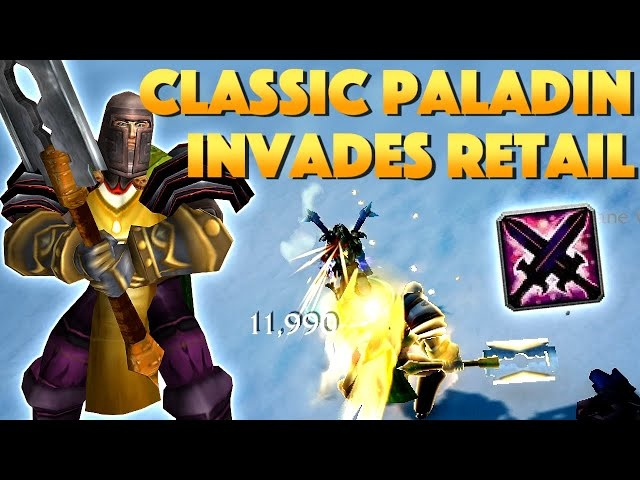 Classic Paladin One Shot in Shadowlands - Rextroy with the Return of Reckoning