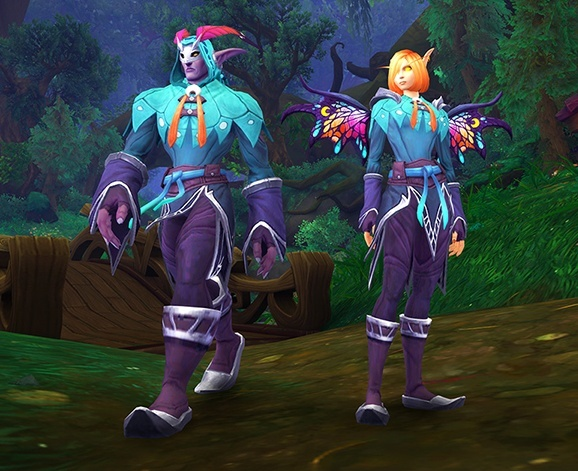 Speculation on the Original Source for the Sprite Darter Set - BlizzCon Virtual Reward? Dreamgrove Murder Mystery?