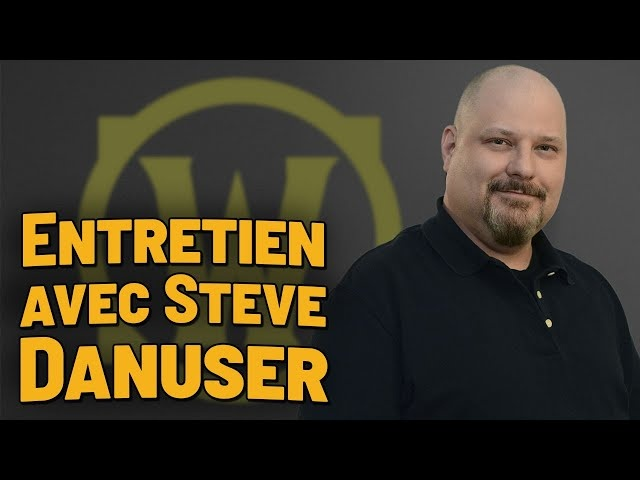French Community Interview with Steve Danuser - Shadowlands Lore Interview