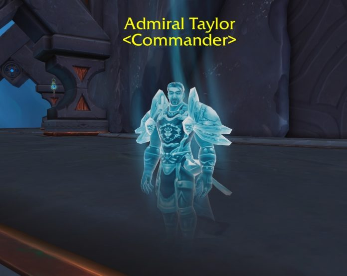 Alliance Commander Admiral Taylor Found in the Shadowlands