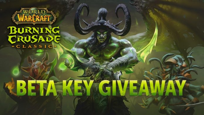 Burning Crusade Classic Beta Key Giveaway: 200 Keys Up for Grabs from Wowhead!